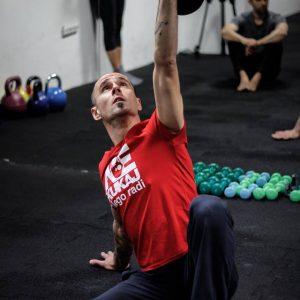 Aleksandar Miketa, Fitness instructor