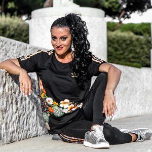 Anastasia Alexandridi, dance fitness presenter
