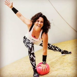 Nina Stojadinovič, fitness instructor