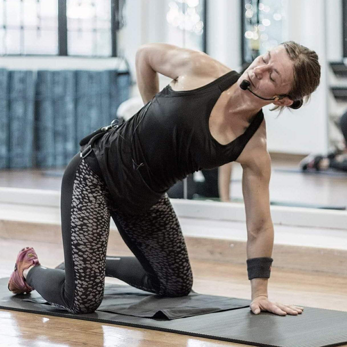 Marina Skrobot, fitness